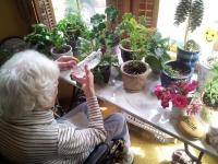 Lorraine HT Session 131 Nurturing Plants In her Garden
